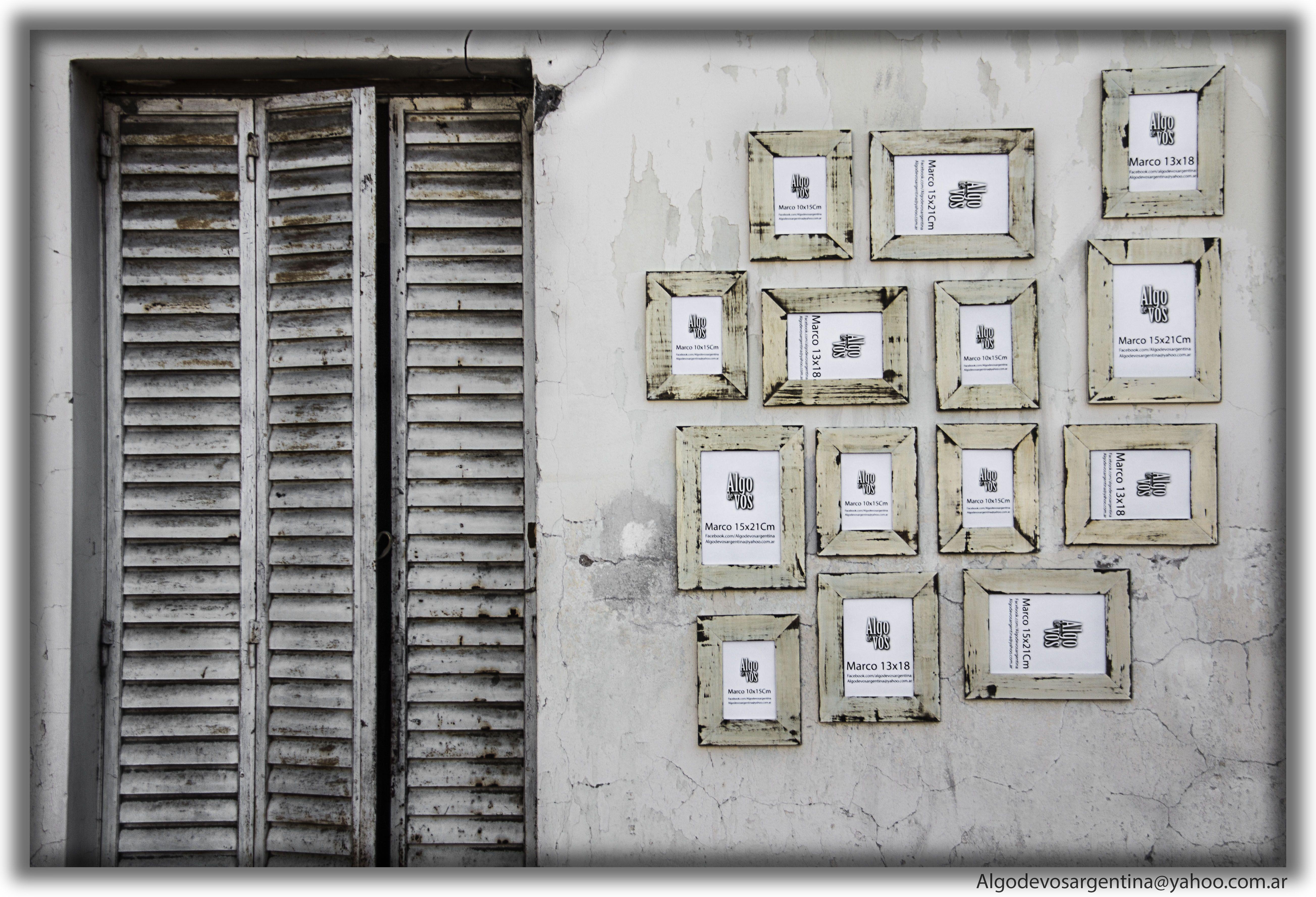 Marcos Vintage, personaliza tus paredes como mas te gusta, mas info ...