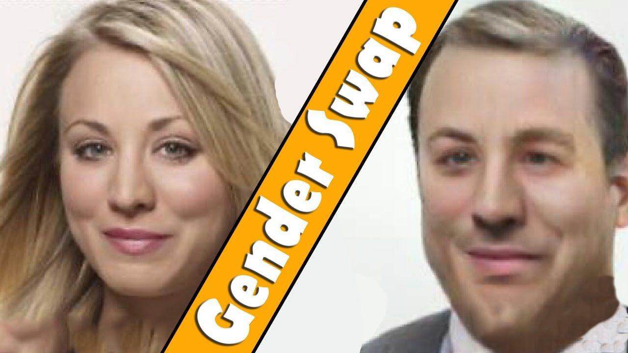 Gender Swap - The Big Bang Theory (FaceApp) | the BIG bang