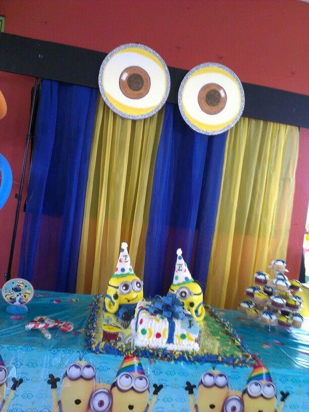 Minions birthday Decor Pinterest Birthdays Birthday party