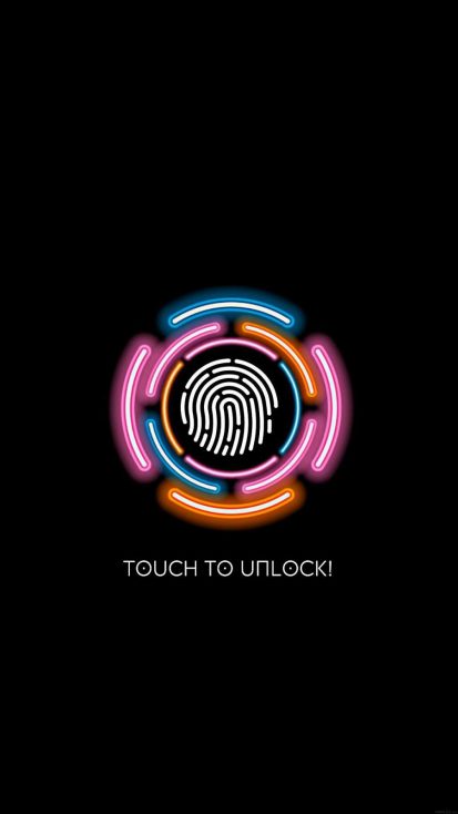Touch To Unlock IPhone Wallpaper - IPhone Wallpapers
