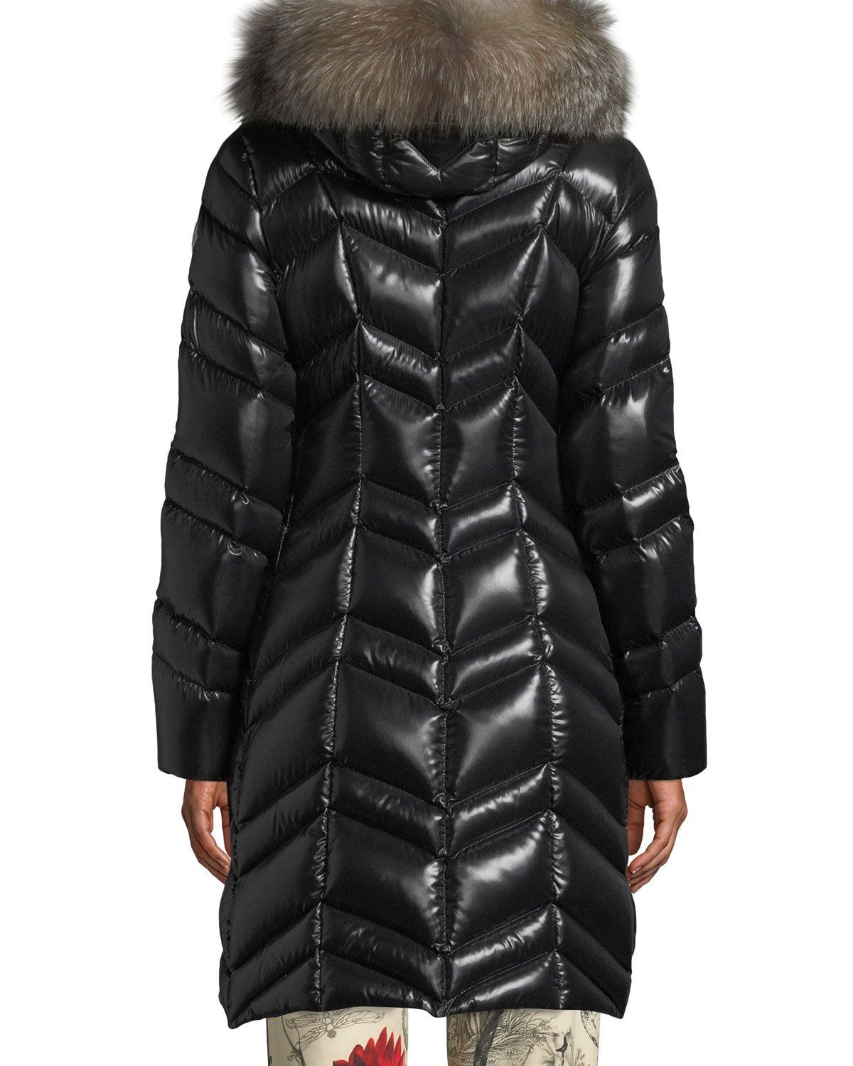 35fba5441c2a Moncler Fulmar Hooded Puffer Coat w  Removable Fur Trim