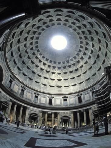 Photographic Print: Interior of the Pantheon, the Oldest Domed Building by Richard Nowitz : 16x12in