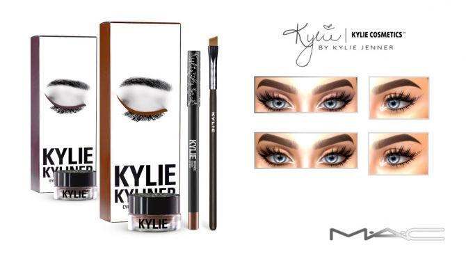 Kyliner Kits Singles at MAC Cosimetics via Sims 4 Updates