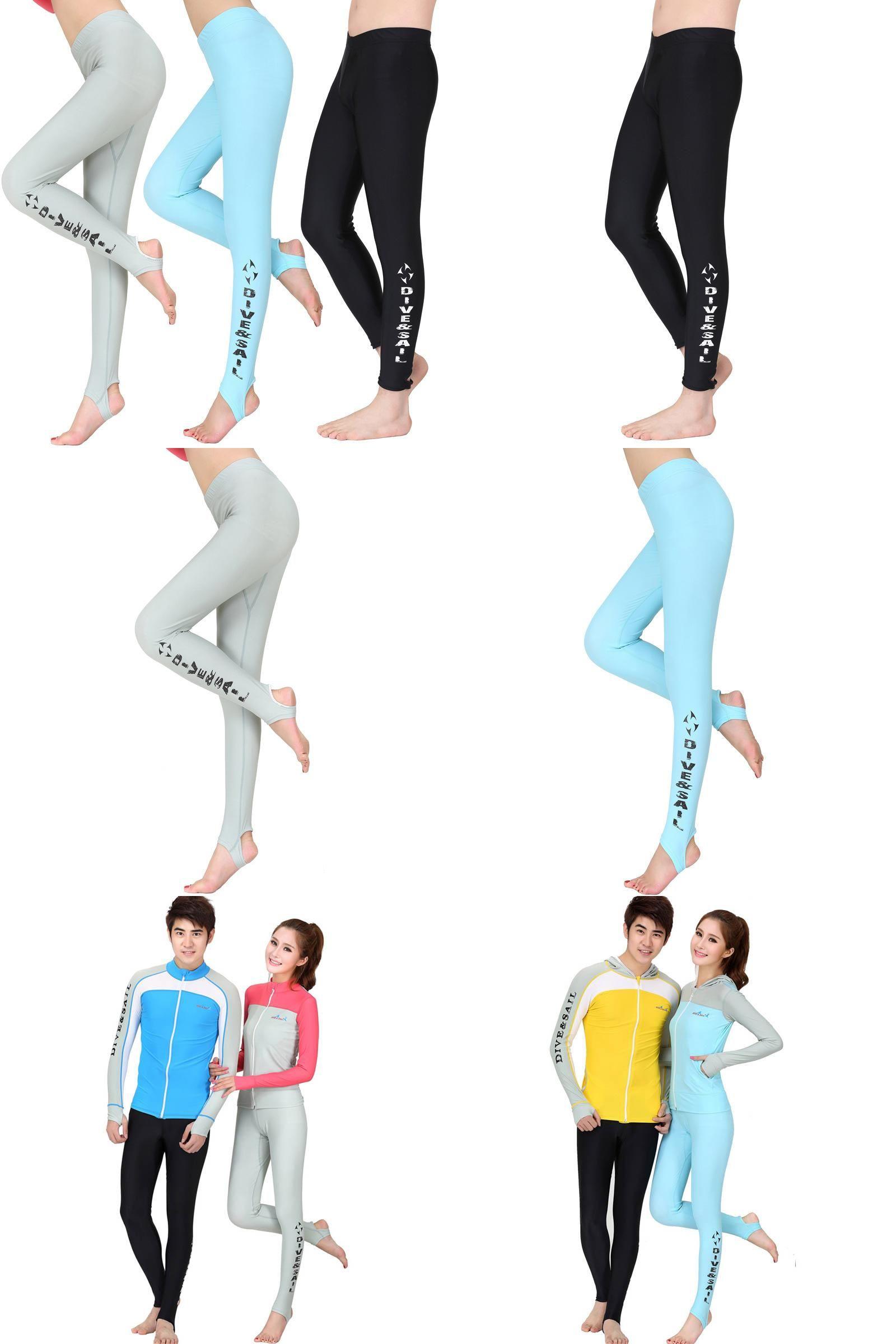 8274fc1914  Visit to Buy  DIVE SAIL Mens Surfing Wetsuit Women Swim Pants Wet Suit  Surf Swimwear