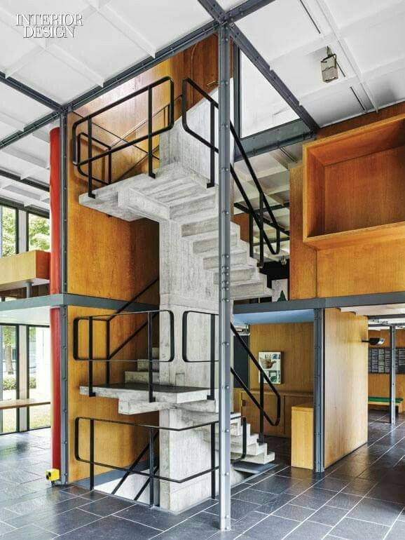 Best Stand Alone Rc Stairs With Images Corbusier 400 x 300