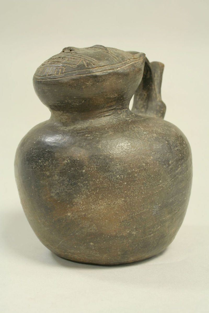 Feline Effigy Bottle Paracas The Met Esculturas Ceramica Esculturas Pinturas