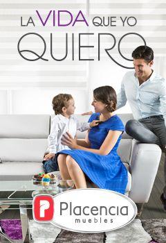 Placencia Muebles te da la facilidad de seleccionar los muebles en piezas sueltas que tu hogar necesita.
