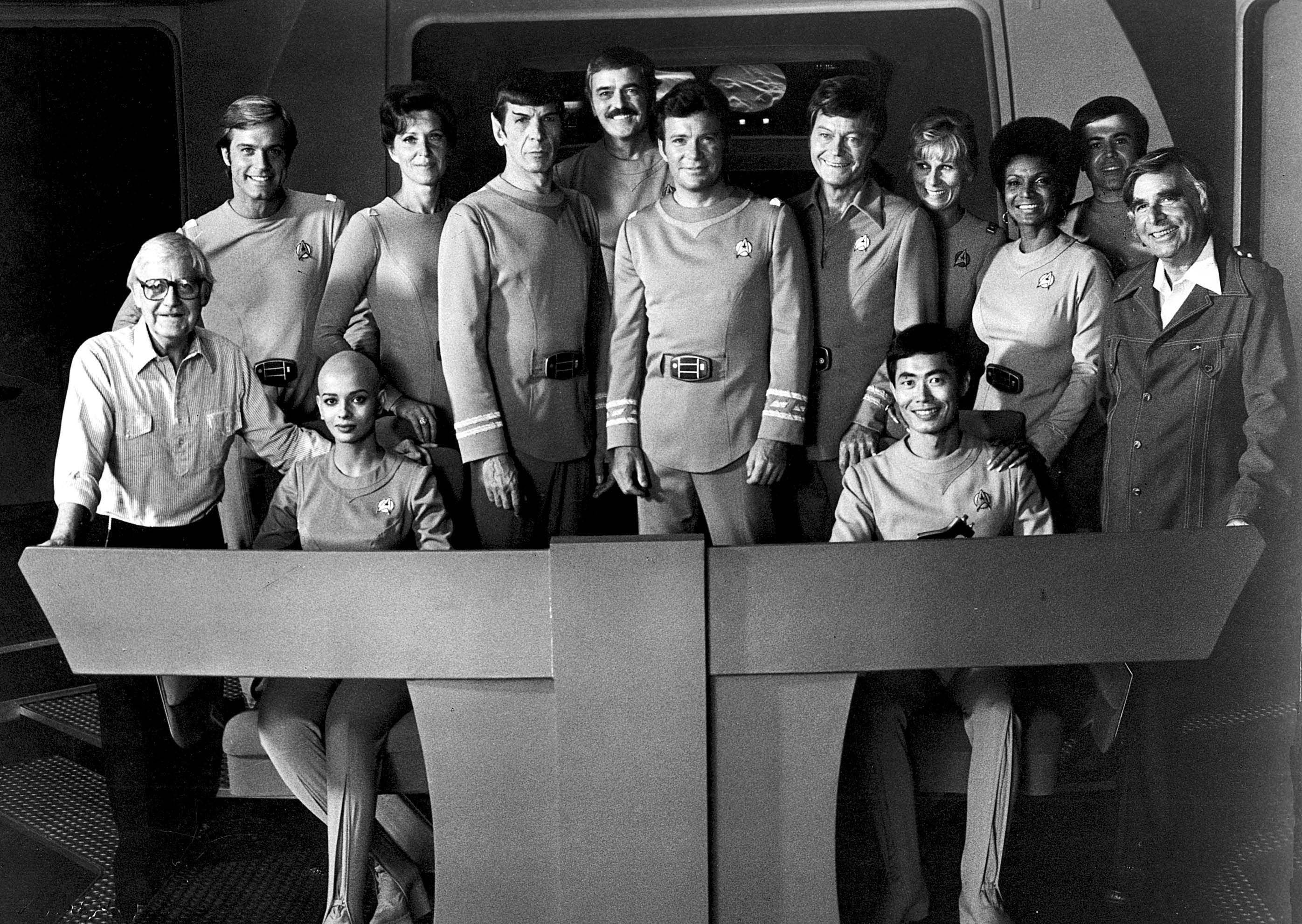 The cast of Star Trek: The Motion Picture and director ...