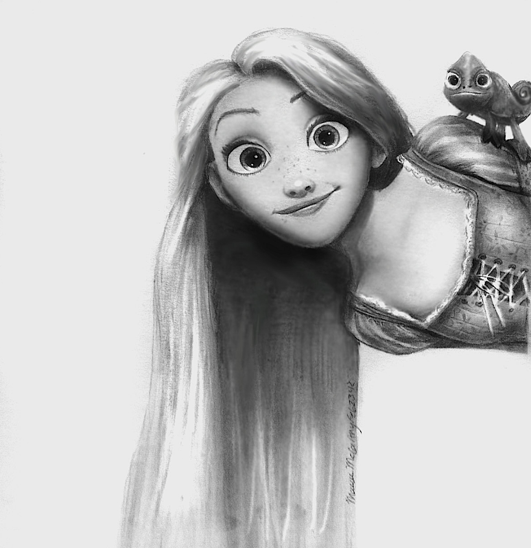 Rapunzel from Disney's Tangled by maeve88.deviantart.com ...