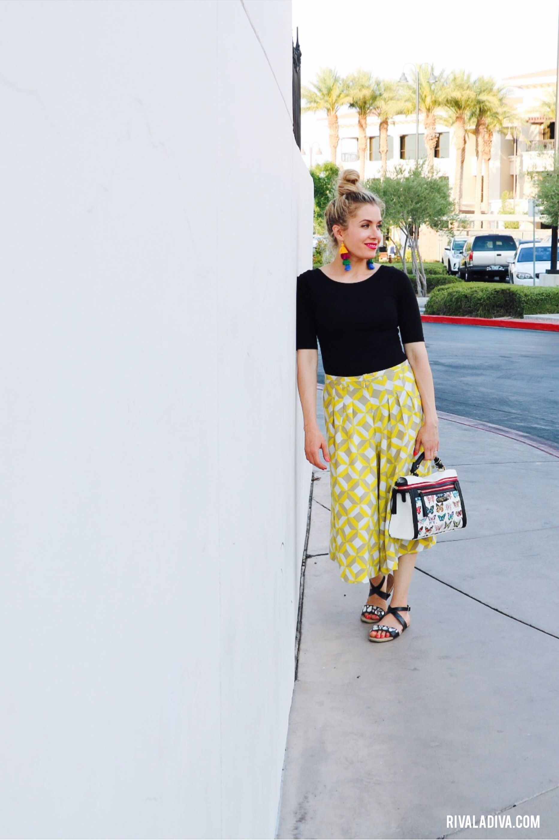 my Favorite Culottes with Vogue Pattern v9075 | See Delicious ...
