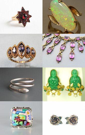 I wish I was rich so I could buy it all! by Deb Beechy on Etsy--Pinned with TreasuryPin.com