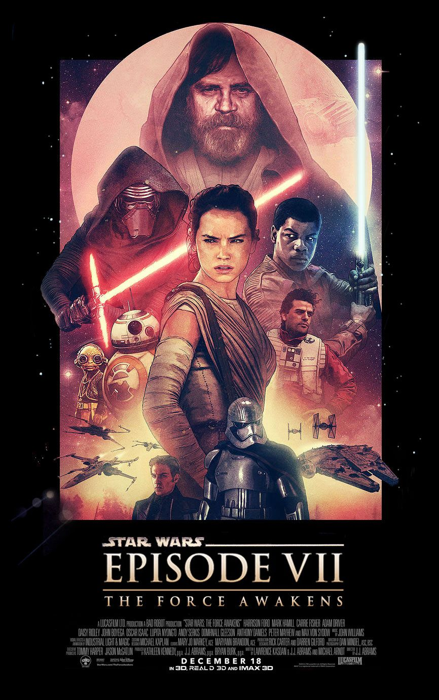 i wanted to see adam relf s force awakens poster in the classic star