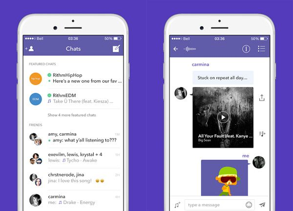 Rithm is Cheaper Than Spotify, Has Emoji Music, Messages
