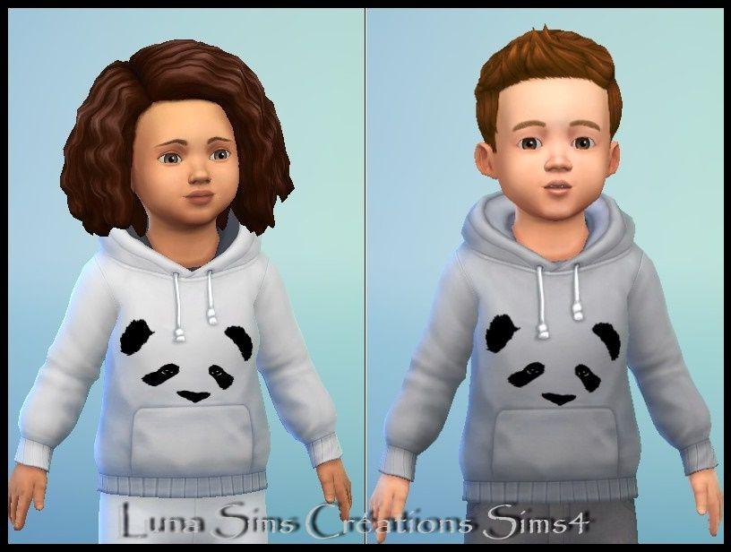 Pull Panda Bambin Bambin Sims 4 Mods Sims Et Sims