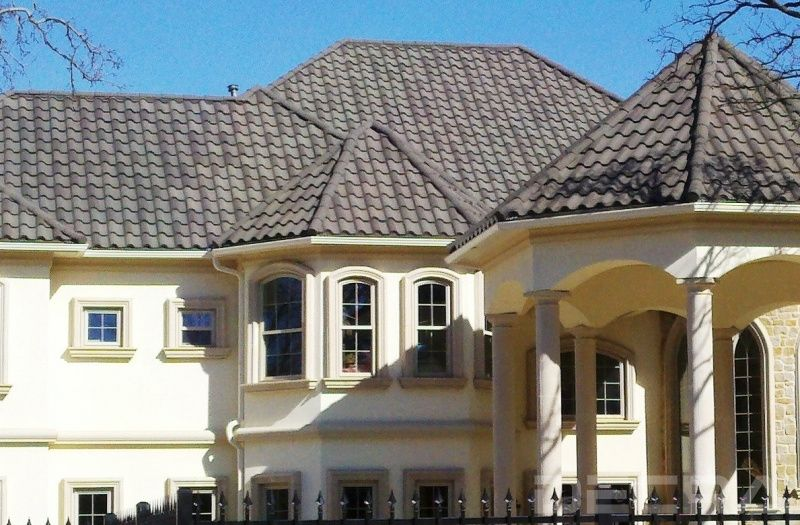 Best Villa Tile Pompeii Ash Texas Roofing Decra Roofing 400 x 300