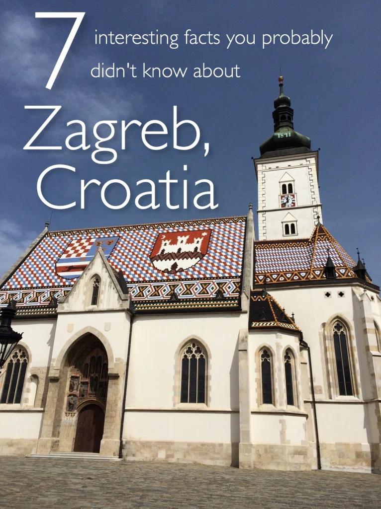 7 Fun Facts About Zagreb Croatia It S A Schmahl World In 2020 Fun Facts Croatia Travel Zagreb