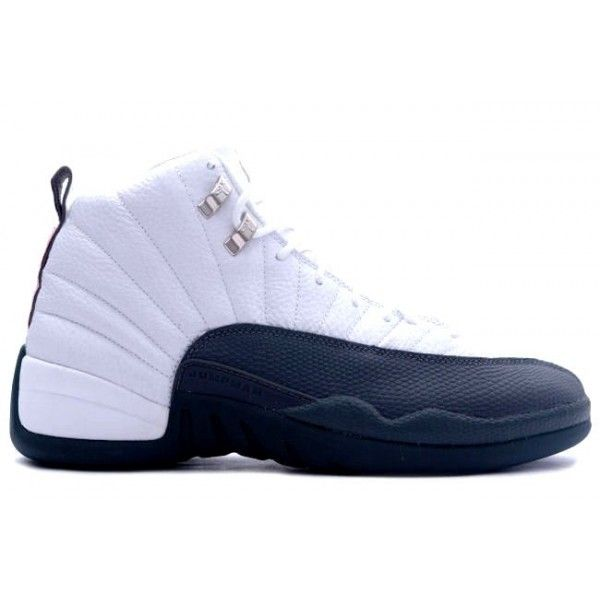 size 40 fa057 fb892 Cheap 136001-102 Air Jordan XII 12 Retro Mens Basketball Shoes White Flint  Grey A12009 UK Outlet Online