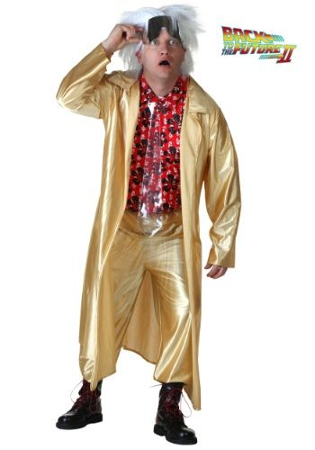 Plus Size Retour vers le futur II Doc Brown Costume