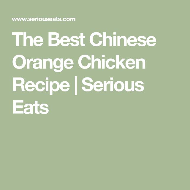 The Best Chinese Orange Chicken #chineseorangechicken