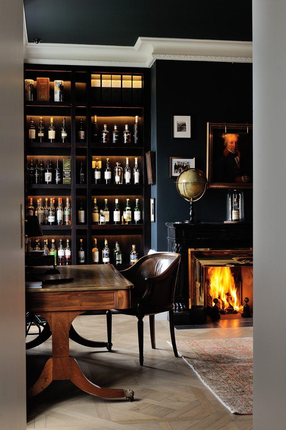 Appartement Luxe Agence Magnin Du Sauzey20140723 0039 Decoration Salon Anglais Bar Appartement Salons Anglais