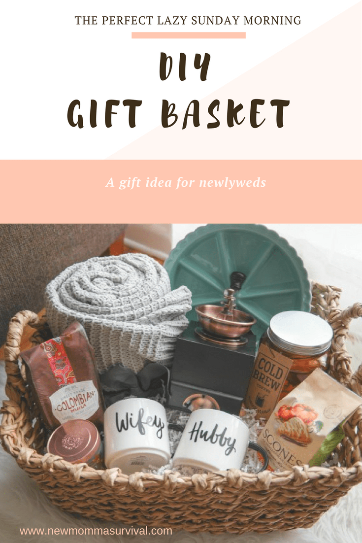 A Cozy Morning Gift Basket A Perfect Gift For Newlyweds