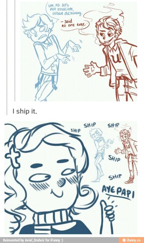 SHIP SHIP SHIP SHIP YUP I SHIP IT (MISS W)