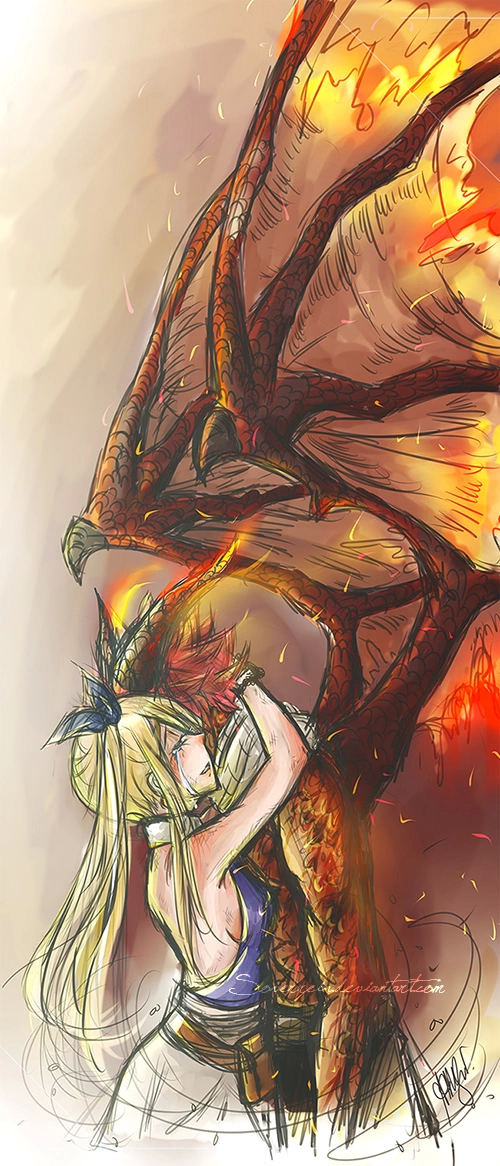 Image De Fairy Tail Lucy And Natsu Fairy Tail Anime Fairy Tail Fairy Tail Guild