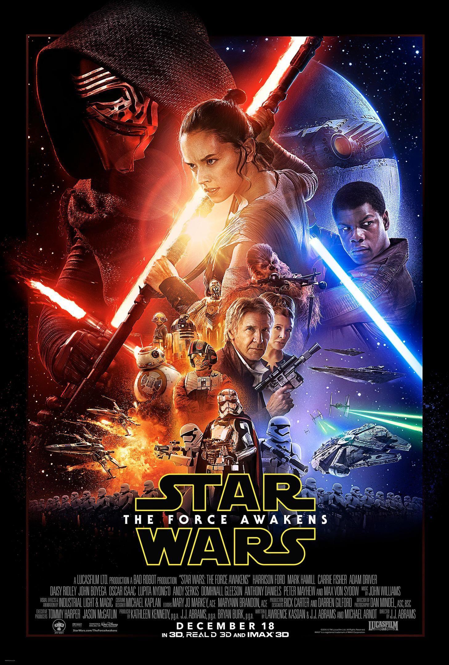 Star Wars: The Force Awakens.