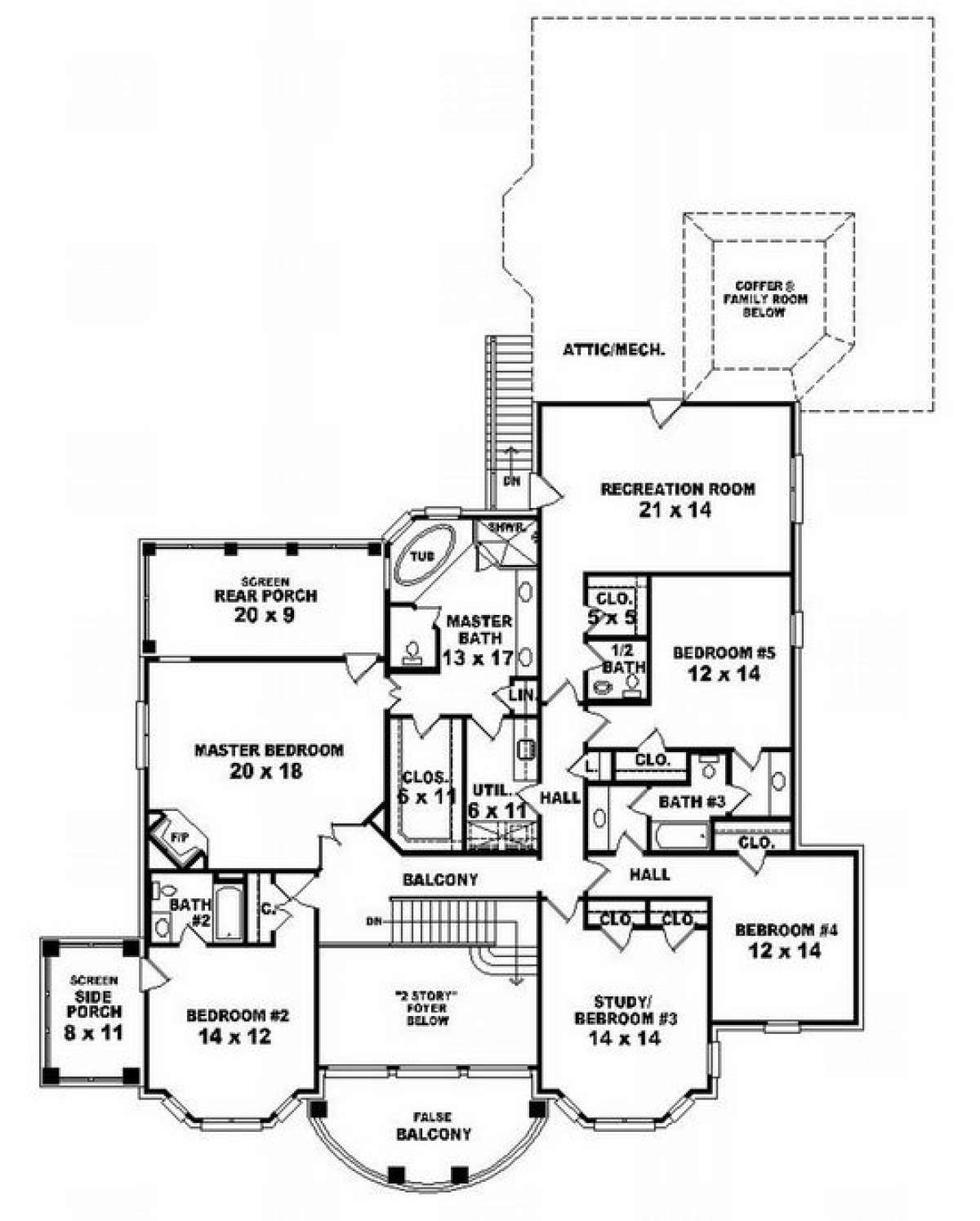 House Plan 053 02267 Luxury Plan 5 625 Square Feet 7 Bedrooms 4 Bathrooms In 2020 Luxury Plan House Plans Garage House Plans