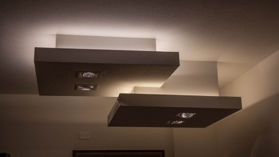 Plafoniere Controsoffitto : Controsoffitto design abbassamenti lampen e