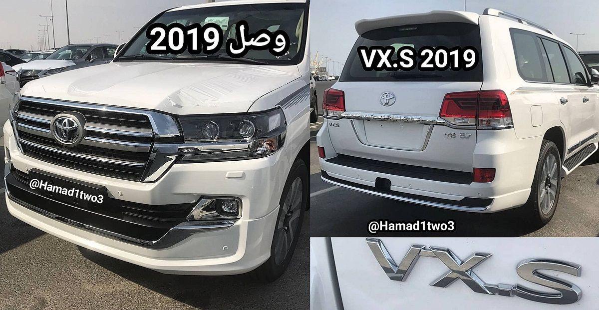 وصول تويوتا لاندكروزر 2019 المحدثة إلى الخليج Land Cruiser Toyota Land Cruiser Toyota