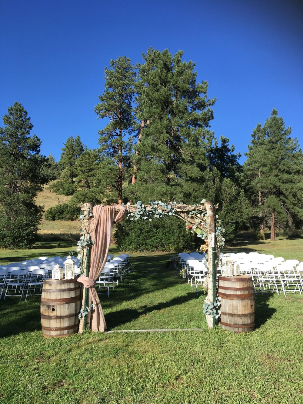 Wedding Venue in Pagosa Springs, Colorado Paradise Ranch