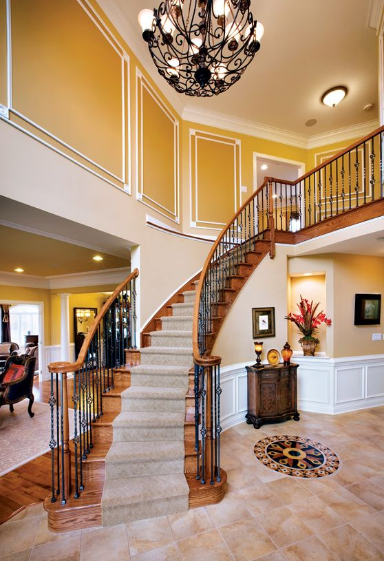 Best Ridings At Cream Ridge Home Designs In 2019 Staircase 400 x 300