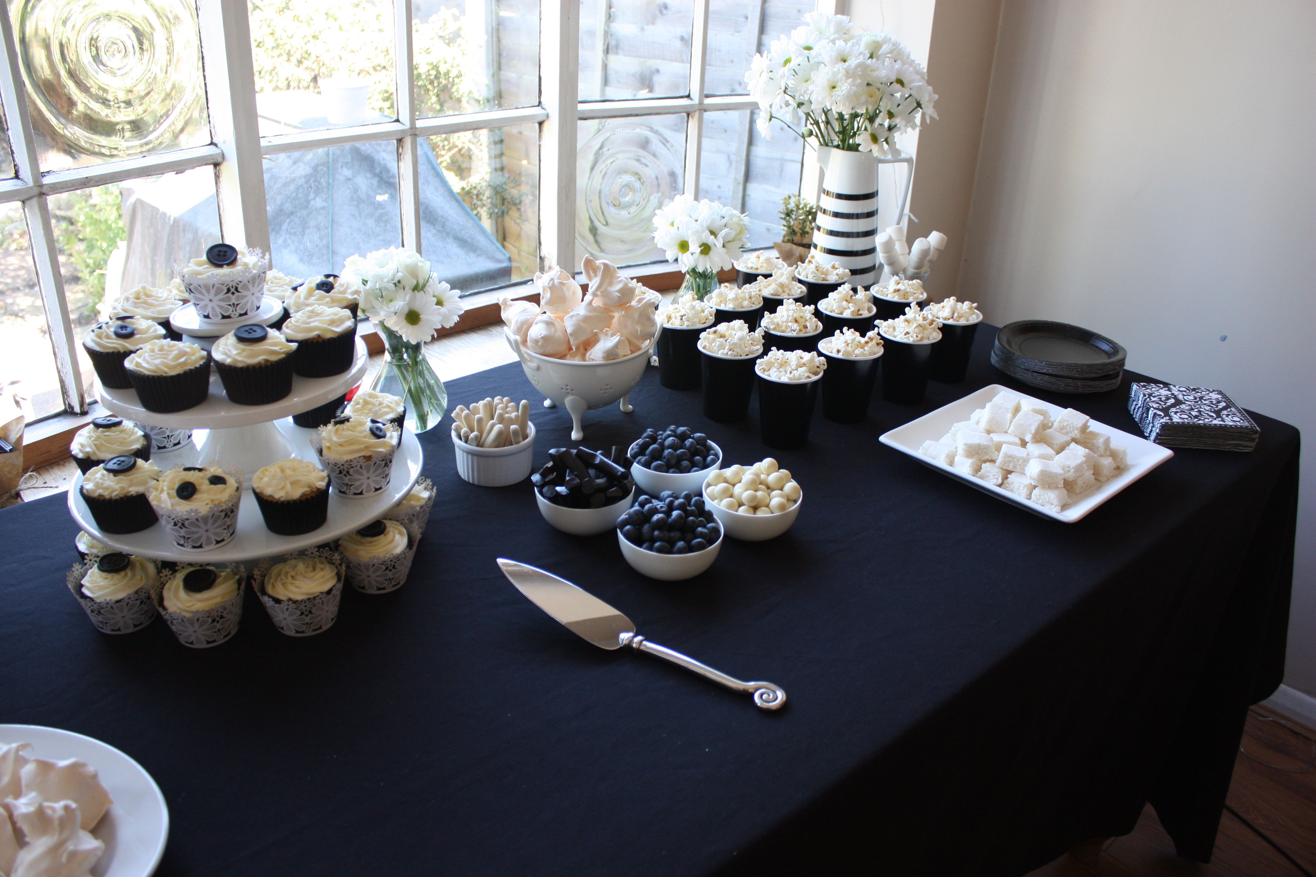 Black White Themed Party
