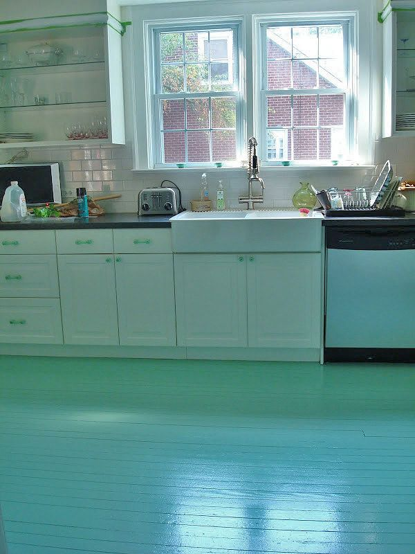 Do It Yourself Floors Floor Painting Kitchens And House