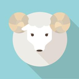 羊のフラットアイコン 2 フラットアイコン 可愛い壁紙 アイコン