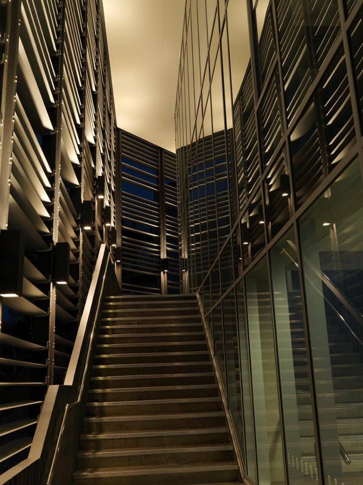 Interior stair commercial buildings pinterest for Interior architecture adelaide