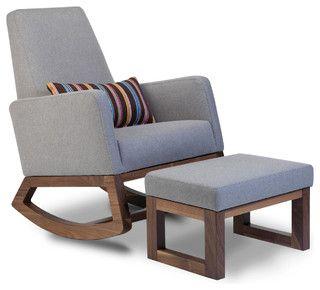 Joya Rocker Modern Rocking Chairs