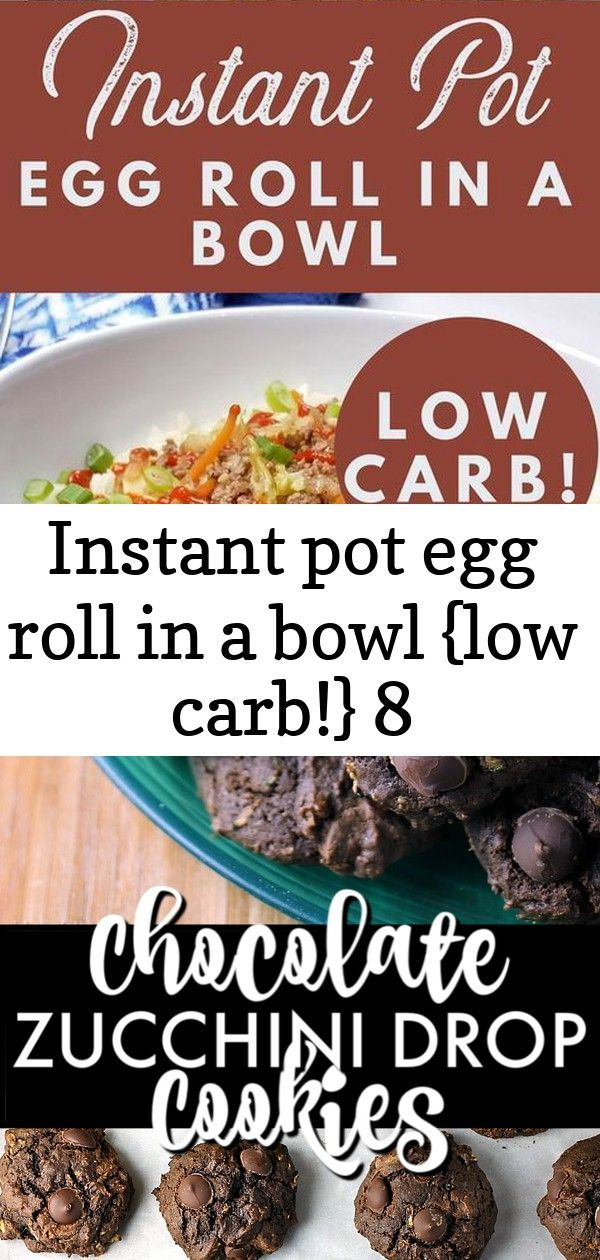Instant pot egg roll in a bowl low carb 8 INSTANT POT EGG ROLL IN A BOWL LOW CARB  This is a super quick and easy dinner option that is great to keep on hand for those bu...