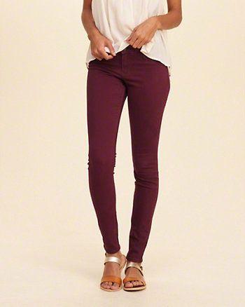 Hollister Co. Jeans Skinny Fit - dark blue denim