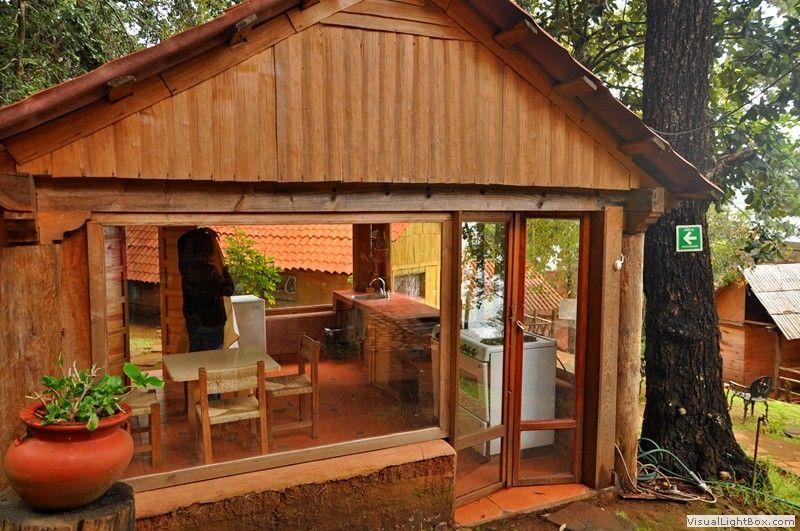 Fotos de caba as rusticas renta de caba as en zirahu n y for Chimeneas prefabricadas