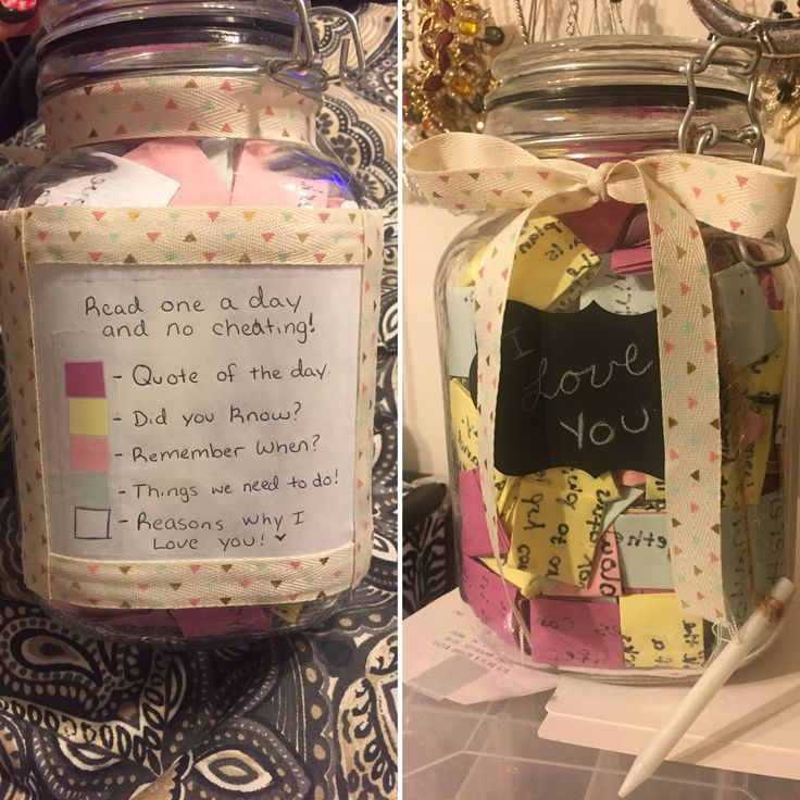 365 Day Friendship Jar Sister Gifts