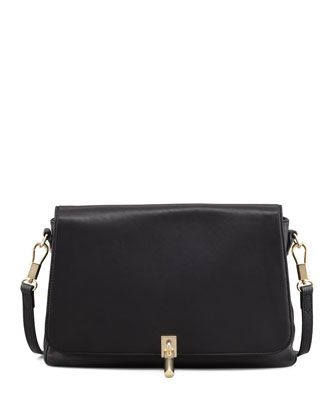 Leather Mini Crossbody Bag, Black by Elizabeth and James at Neiman Marcus.
