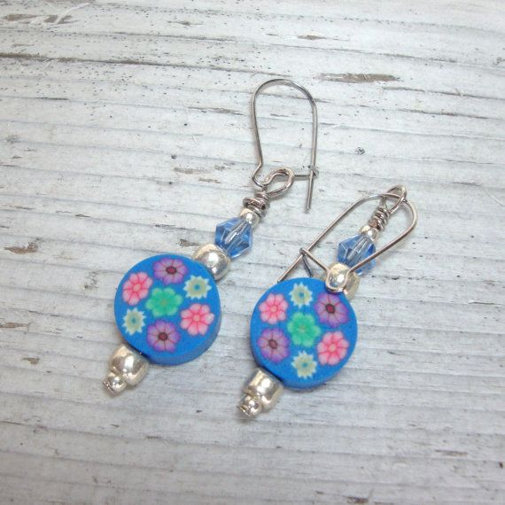Colorful Tween Earrings Kids By Kidsatheartbead