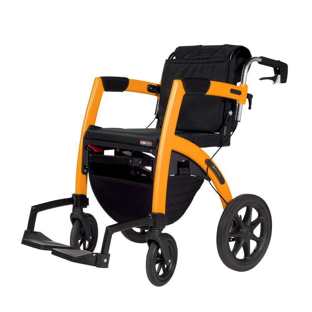 Rollator Two In One Walker Amp Wheelchair First Walkers