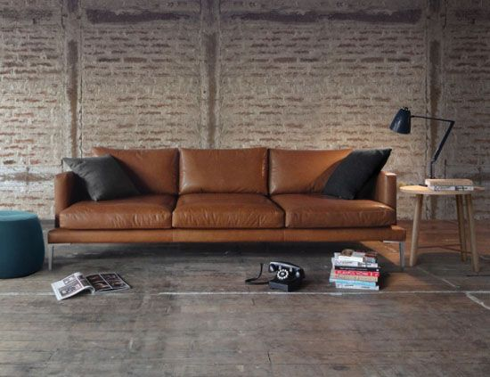 20 Elegant Leather Couch Designs For Your Living Room | HOME ...