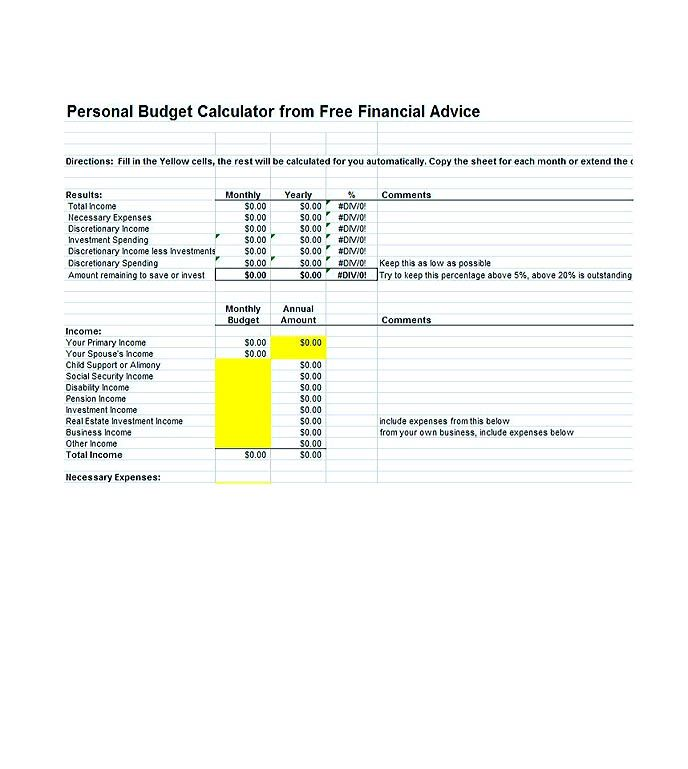 budget template pdf , Cool Budget Template Google You Definitely - business expenses template