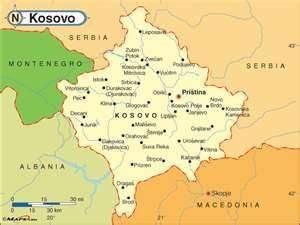 Imagini pentru Kosovo map