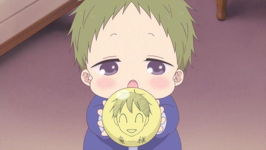 Cute Little Kotaro Sendokai Anime Arte