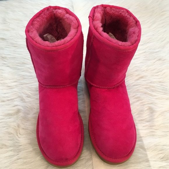 Ugg Classic Short Hot Pink Boots